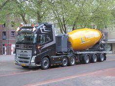 Types Of Concrete, Equipment Trailers, Mixer Truck, Truck Scales, Concrete Mixers, Heavy Duty Trucks, Volvo Trucks, Dump Truck, Classic Trucks