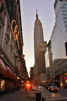 NYC at Christmas:)