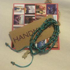 NWT Wachinik triple wrapped bracelet NWT Wachinik triple wrapped bracelet. 26 inches around. 100% waxed polyester thread. Handmade in Guatemala. Ketzali Jewelry Bracelets
