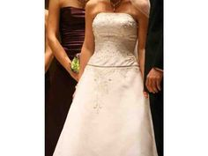 Used Wedding Dresses Ct - Wedding and Bridal Inspiration Strapless Dress Formal, Formal Dresses, Used Wedding Dresses, One Shoulder Wedding Dress, Bridal, Stuff To Buy, Inspiration, Tops, Wedding Ideas