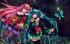 Vocaloid Miku, Luka Wallpaper