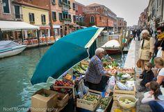 Exploring Murano, the main street or canal in #Murano #Venice #italy