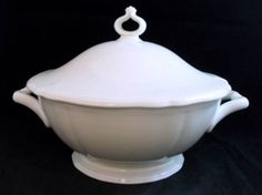 "Rosenthal CHIPPENDALE CREAM Tureen with Lid 10"" diameter #ROSENTHAL"