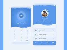 50 User profile page — Design Inspiration | by Muzli | Muzli - Design Inspiration Web Design, App Ui Design, Mobile App Design, Interface Design, Page Design, User Interface, Mobile Ui, Profile App, Profile Website
