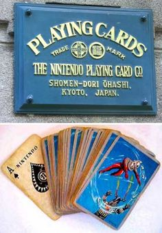 Originally incorporated as the Nintendo Playing Card Company on September 23rd of 1889, the firm changed its name to the more generic Nintendo Co., Ltd. in 1963 but never forgot its card-making roots. The vintage deck above is evocative, predictive, futuristic… and awesome!