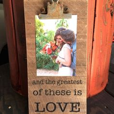 Love Picture Holder [1 Corinthians 13] - Darby Smart