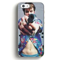 This is a 1990'S Leonardo Dicaprio Romeo And Juliet White iPhone 5|5S Case , high flexibility, and thin profile to protect the back and sides of your phone and allows for easy access to all buttons, f