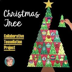 Braided Christmas Tree - Collaborative Christmas Activity / Christmas Crafts - Lifestyle and Outfit ideas Christmas Art Projects, Christmas Tree Art, Christmas Activities, Christmas Crafts, Christmas Ornaments, Christmas Ideas, Class Christmas Gifts, Christmas Art For Kids, Christmas Time