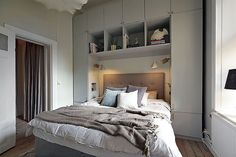 By Emma.: Bastugatan 57 By Emma.: Bastugatan 57 The post By Emma.: Bastugatan 57 appeared first on Sovrum Diy. Cosy Bedroom, Small Room Bedroom, Master Bedroom, Bedroom Decor, Home Room Design, Bed Design, Bedroom Built Ins, Fitted Bedroom Furniture, Lovely Apartments