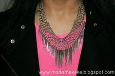 Madame Keke Fashion Blog : Outfit: Pink Neon Love