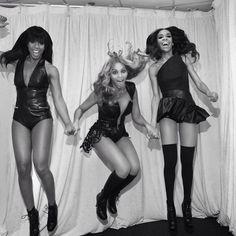 Destiny's Child last night