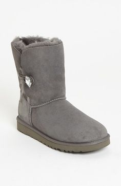 $219, UGG Australia Bailey Button Bling Boot. Sold by Nordstrom. Click for more info: https://lookastic.com/women/shop_items/126113/redirect