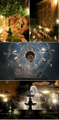 LOVE this idea for outdoor  lighting