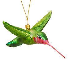 Buy Shangri-La Hummingbird Bauble Online at johnlewis.com