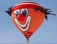 funny hot air balloons... sure but how many kids were terror-stricken!