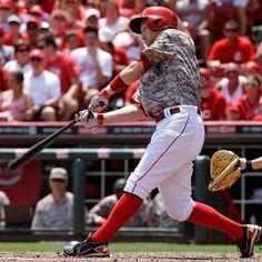 Cincinnati Reds Alternate Uniform (2014-Present) Todd Frazier.
