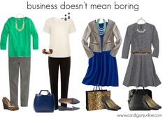 Cardigan Junkie: Business Casual Doesn't Mean Boring!