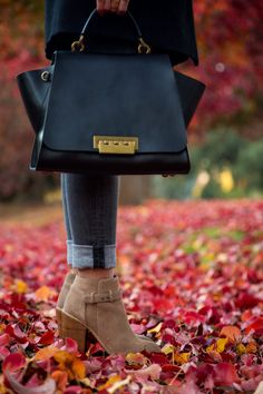 How To Wear Ankle Boots in the Fall- Visit Stylishlyme.com to view what are the three fall essentials that will make you outfit 10x more stylish