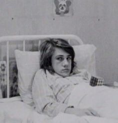young Christoph in bed