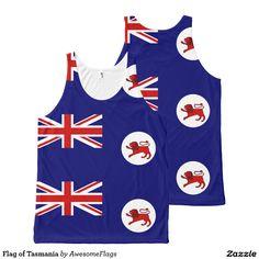 Flag of Tasmania All-Over Print Tank Top