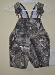 59c4dfbb79f48 BASS PRO 6 MTHS CAMO OVERALLS SHORTS EUC #BassProShops #Everyday. Lads To  Lace Kids Clothing