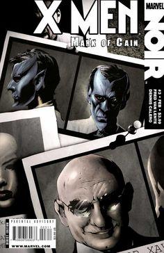 X-Men Noir: Mark of Cain # 3 by Dennis Calero Comic Book Covers, Comic Books, Mark Of Cain, The Bolsheviks, Rasputin, American Comics, Sci Fi Art, X Men, Cover Art