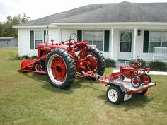 1948 Farmall H and toys