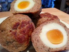 Slimming World Delights: Scotch Eggs (Syn value for each sausage has changed to Slimming World Free, Slimming World Dinners, Slimming World Recipes Syn Free, Slimming Eats, Slimming World Starters Recipes, Mince Recipes, Cooking Recipes, Healthy Banana Recipes, Skinny Recipes