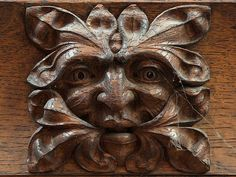 Yorkshire Selby Abbey Green Man