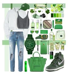 March Madness Make Your Own Luck by avericleanstyle on Polyvore featuring polyvore, fashion, style, Won Hundred, Dolce&Gabbana, #NIKE, Smythson, Lacoste, #TheNorthFace, Louis Vuitton, Ray-Ban, #Burberry, Urban Decay, NARS Cosmetics, Rimmel, #Chanel, Clinique, Denman, Fuji and clothing #ireland #stpatricksday #stpaddysday #greenday #green #dublin #belfast