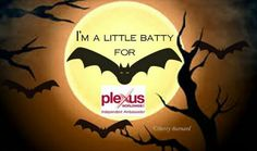 "I might seem to some a ""Little Batty"" about Plexus but how can I not share something that is helping so many. Ambassador#465783    http://starlite.myplexusproducts.com  StarsPinkPlexus@gmail.com"