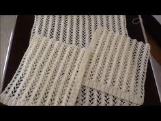 Portakal Çiçeği Yelek Örneği Yapılışı - YouTube Crochet Rug Patterns, Baby Knitting Patterns, Circle Quilts, Crochet Pillow, Gold Work, Easy Knitting, Merino Wool Blanket, Baby Quilts, Free Pattern