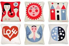 alexander girard pillows-