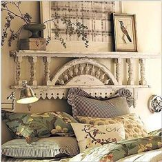 Exceptional diy french country decor are offered on our site. Take a look and you wont be sorry you did. French Country Rug, French Country Bedrooms, French Country Decorating, Country Bathrooms, Rustic French, Salvaged Decor, Ideas Dormitorios, Décor Antique, Country Farmhouse Decor