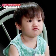 Asher Cute Little Baby, Pretty Baby, Little Babies, Cute Babies, Korean Babies, Asian Babies, Kids Boys, Baby Kids, Baby Boy