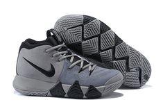 3154deb35f26 New Arrival 2018 Men Nike Kyrie 4 Wolf Grey Black Mens Running