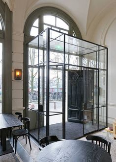 "Steel and glass became the de facto medium for ""Modernism"" because of the combination of aesthetics and high function."