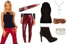 Easy Buffy Summers Halloween Costume