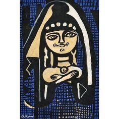 Bedri Rahmi Eyüboğlu (1911-1975) Portre