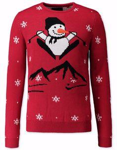 21fda76bee7 Pull de Noël   on craque toutes pour le pull de Noël. Pull MocheBonhomme De  NeigeTricotsLoisirs ...