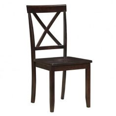 Boraam 22011 Madison Dining Chair, Cappuccino, Set of 2