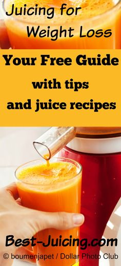 Instantly tap into my 20 years of experience with juicing for weight loss and health! All my weight loss tips, news and juice recipes are gathered here for you. Drop those extra pounds and keep them off the healthy way. You can do it!