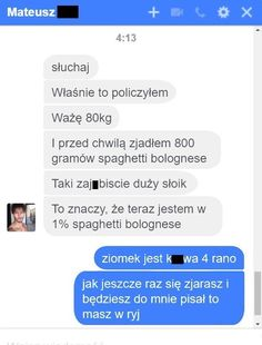 22 rozmowy facebookowe i smsowe, które cię rozbawią – Demotywatory.pl Funny Sms, Funny Text Messages, Haha Funny, Funny Texts, Funny Jokes, Polish Memes, Weekend Humor, Funny Conversations, Old Memes