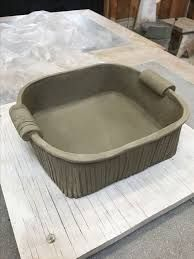 Image result for slab pottery ideas