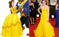 As famosas que apostaram em vestidos bem parecidos com os das princesas da Disney - Moda - CAPRICHO
