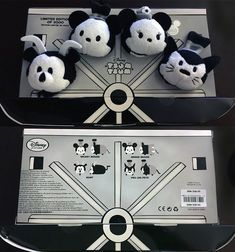 Steamboat Willie Tsum Tsum Box Set Front and Back
