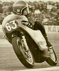Pasolini 1971 on Aermacchi 350