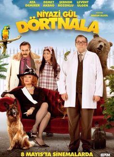Niyazi Gül Dört Nala filminin HD Afişi  http://www.tekparcafilmindir.com/niyazi-gul-dortnala-indir-2015-full-yerli-film-indir/