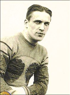 George Wilson of the Huskies.  Led them to two Rose Bowls in '23 and '25.  All-American in '25.  Played for Providence Steamrollers in NFL.  Elected to College and UW Hall of Fame.