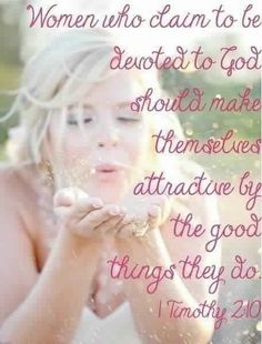 Image result for women of God and beauty